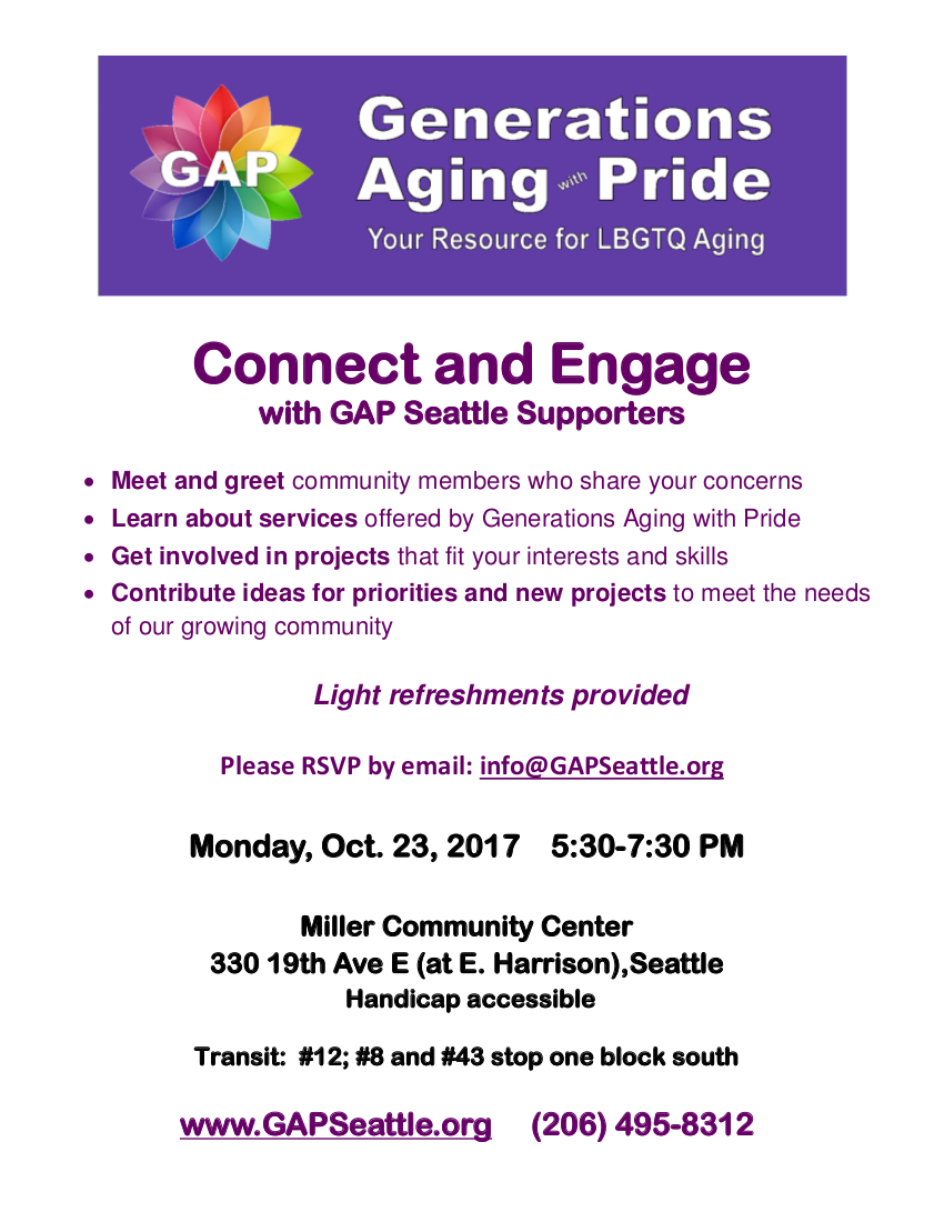 GAP Community Event