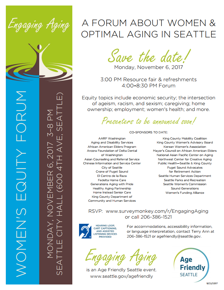 Seattle Women's Equity Forum