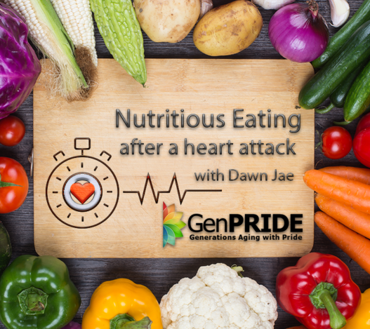 GenPride Workshop announcement: Healthy eating after a heart attack