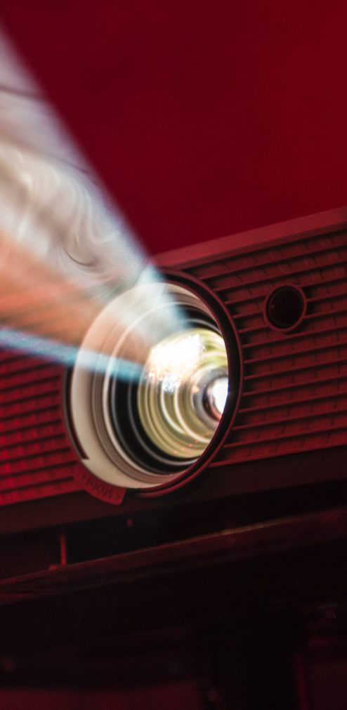 photo of a projector