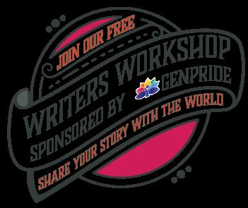 Writer's Workshop sponsored by GENPride poster