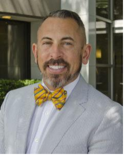 photo of man with bowtie